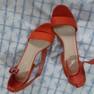Shein orange heels